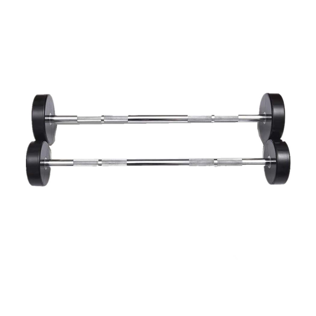 CM-832 Life Fitness PU  Straight Barbell