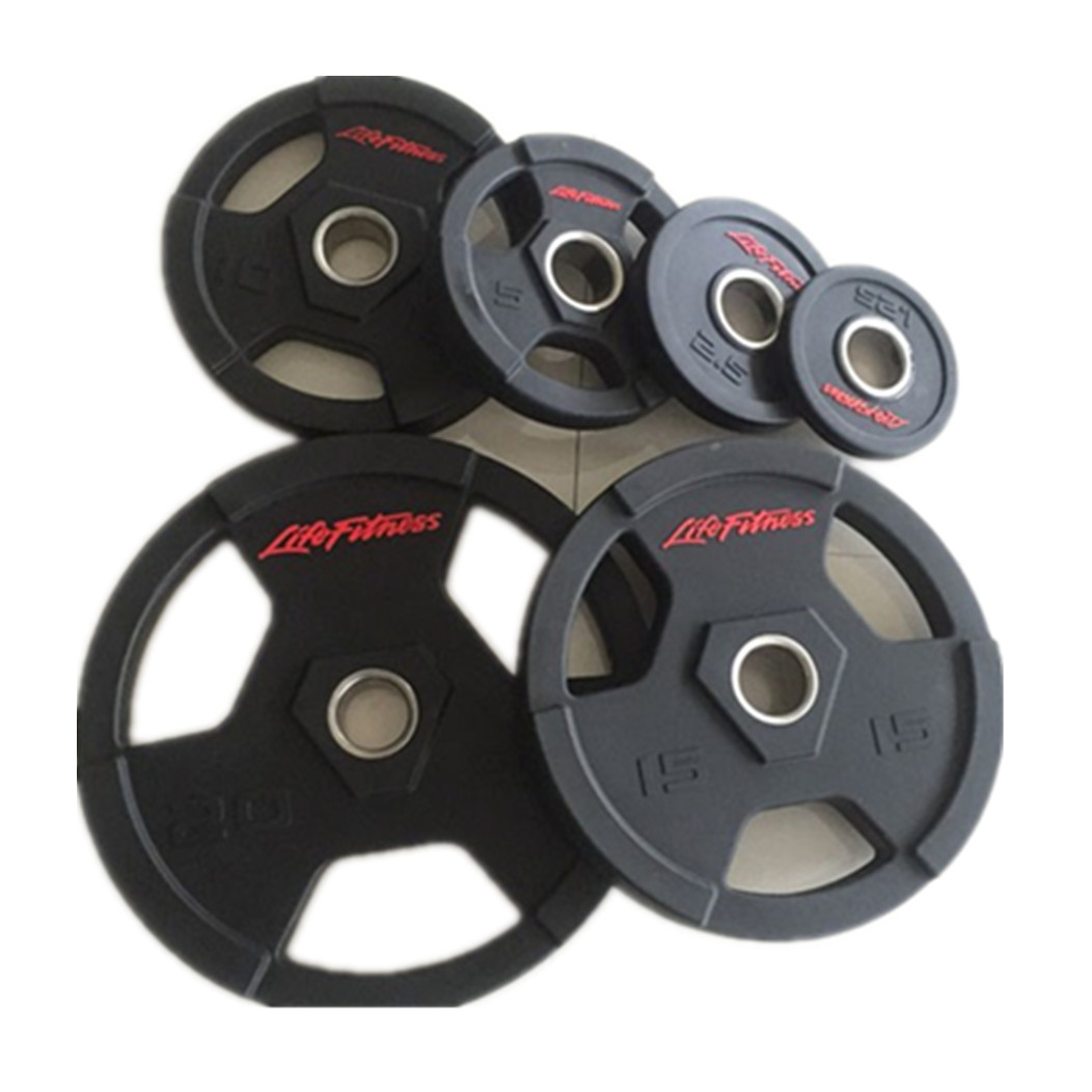 CM-831 Life Fitness PU  Weight Plate