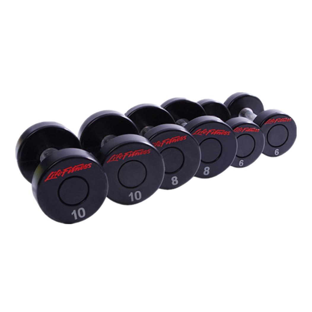 CM-830 Life Fitness PU Dumbbell